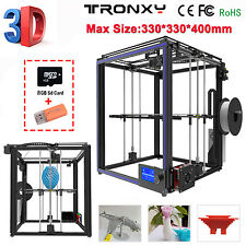 2018 Newest Large 3D Printing Size 330x330x400mm X5S High Precision 3D Printer