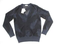 New Dries Van Noten Jemen Intarsia-Knit Sheer Jumper Sweater XS