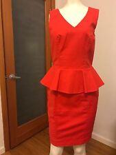 H&M Peplum Dress Size 6