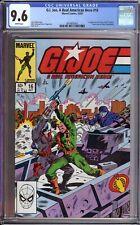 G. I. Joe A Real American Hero #16 CGC 9.6 1ST APPEARANCES COVER GIRL & TRIPWIRE