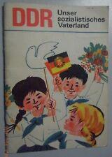 DDR ~ unser Sozialistisches Vaterland~Leseheft für Klasse 2-4 /Lehrbuch Lesebuch