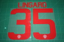 Manchester United 15/16 #35 LINGARD UEFA Cup / FA Cup AwayKit Nameset Printing