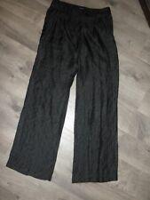 Ladies Black Dress Pants Trousers, Magaschoni, L ?