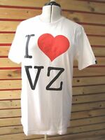 New VON ZIPPER MENS L BOYS XL Sport T-Shirt BOXER TOP white  RRP $49 BARGAIN