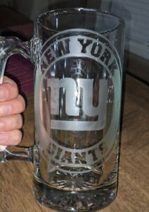 New York Giants Beer Mug; 26.6 Oz; New