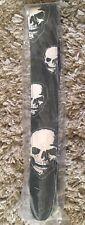 Hot Picks 2.5 inch Leather Fear Skulls Design- RRP £35