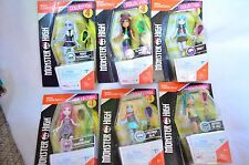 Monster High collection 4 complete set mini dolls mega construx NIB