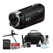 Sony HDRCX405 Handycam HD Camcorder with 16GB microSD Card and Accessory Bundle