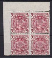 APD241) Australia 1949 Arms 5/- variety 'Thin paper' ACSC 268a
