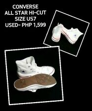 AUTHENTIC CONVERSE ALL STAR HI-CUT (WHITE)