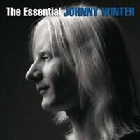 JOHNNY WINTER The Essential 2CD BRAND NEW Best Of Blues Rock