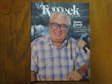 August 3, 1986 Chicago Tribune TV Week (HARRY CARAY/TAKE ME OUT TO THE BALLGAME)