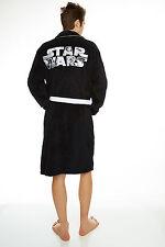 Star Wars LOGO unisex adult fleece dressing gown / bathrobe / robe (mens womens)