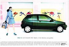 PUBLICITE ADVERTISING   1992    RENAULT   LA CLIO S ( 2 pages)