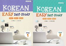 Korean Easy Self-Study Step 1 2 SET w/CD 2014  Korean Language Study Book