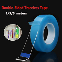 1M-5M Double Sided Tape Heavy Duty Adhesive Traceless Clear Washable  *