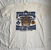 Vintage 1999 Final Game Maple Leaf Gardens NHL Men's T-Shirt