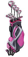 NEW Lady PowerBilt Countess Complete Golf Set Driver Wood Hybrid Irons Magenta