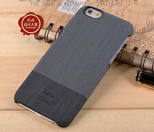 Luxury Kajsa Wood Pattern leather Back Cover Case For iPhone 6 6+ plus