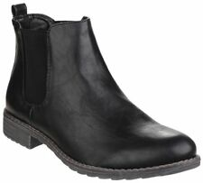 Block Heel Pull On Formal Boots for Women