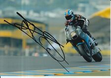 Johann ZARCO main signé 7x5 Photo vint iodaracing moto MotoGP 2 7.