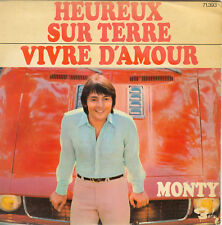 MONTY - 45 tours -  4  titres - EP 71393 - pochette 1