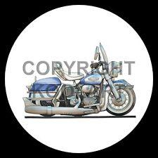 Koolart 4x4 4 x 4 Spare Wheel Graphic Harley Davidson Electra Glide Sticker 1127