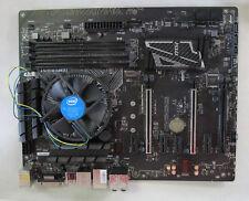 MSI Z170A Gaming Pro Carbon Mainboard DualDDR4-2400, SATAe, HDMI, DV + CPU - 6