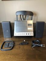 Panasonic SA-EN28 Compact Stereo System CD Player AUX Input No Remote MP3 Tested