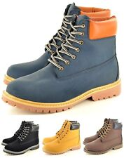 Men's Army Military Combat Chelsea Winter Desert Tall Lace up Boots UK Size 7-11