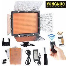 Yongnuo YN-300 III 3200K-5500K LED Camera Video Light Kit & DC Adapter Power