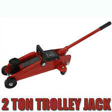 2 Ton Hydraulic Trolley Jack Floor Lifts 2T 2000kg Low Profile SUV 4WD Car Jack