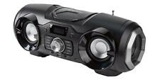 Silvercrest Mobiles Bluetooth Stereo Soundsystem antharzit AUX USB *B-Ware
