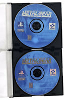 Metal Gear Solid (Sony PlayStation 1, 1998) Discs Only No Manual- Free Shipping