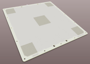 IDE Perforated Build Plate V2 for Zortrax M200