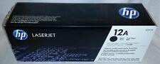 HP 12A Q2612A Black Toner Cartridge New Sealed OEM