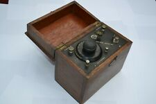 More details for crystal set radio -   nearly 100 years old