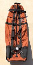 New listing Club Glove USA Burst Proof With Wheels II Golf Travel Bag Carrier Cordura Orange