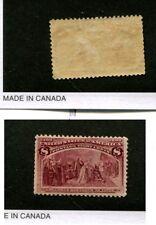 Scott 225 Columbus .08 Stamp Mh 7012K