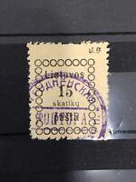 [209] LITHUANIA 1918  Mi# 4