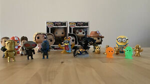 Collection Of Toys Action Figures - Funko Pop - Ooshies - Loot Crate