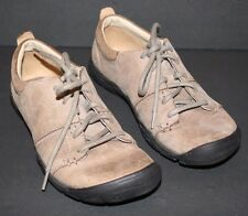 "Pre-worn Women's KEEN Beige Leather ""Delancey Lace CNX""  US 6, UK 3.5, EUR 36"