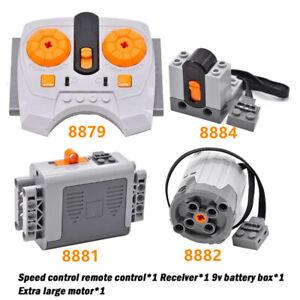 Für LEGO Technic Power Funktionen Motor+Batteriekasten+Fernbedienung+Empfänger