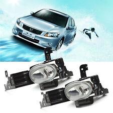 Pair Car Driving Bumper Fog Lights Lamp Assembly Bulb OEM For 11-12 Honda Accord