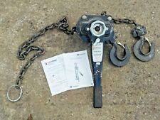 More details for 3 tonne 1.5m chain, lever lifting hoist vat inc