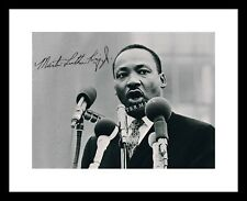 MARTIN LUTHER KING JR 8x10 Signed Photo Print MLK Autographed Civil Rights