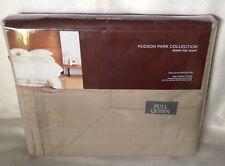 Hudson Park Collection Flat Sheet Queen 600TC Bronze 100% Cotton Retail $150.00
