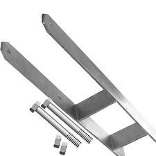 4x H-Anker 14x14 Pfostenträger + 8 Schrauben 12x170 mm Betonanker extra schwer
