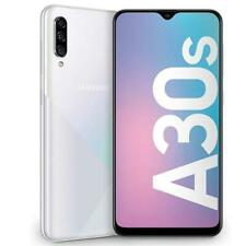 "SAMSUNG GALAXY A30s PRISM CRUSH WHITE 128 GB 4G LTE DUAL SIM DISPLAY HD 6.4"""