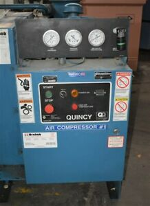 """30 HP QUINCY """"QMB30ANA31P"""" AIR COOLED ROTARY SCREW AIR COMPRESSOR - #29234"""
